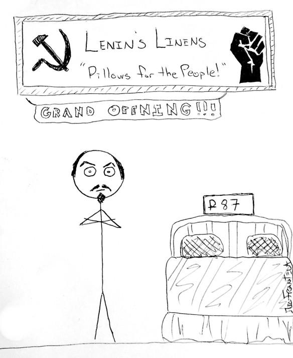 153 - Lenin Linen